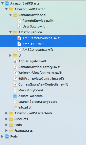 Xcode Project Files